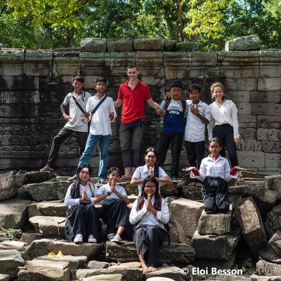 100 km pour les enfants de Banteay Chhmar
