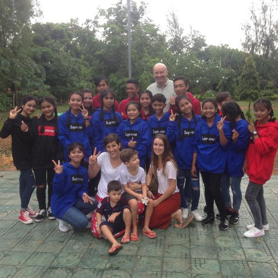 Dîner au profit d'EDM Battambang