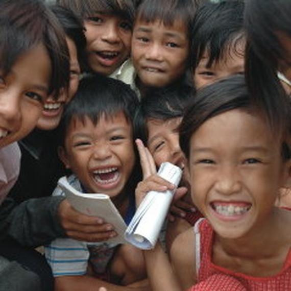 la DRG court pour les enfants du mekong