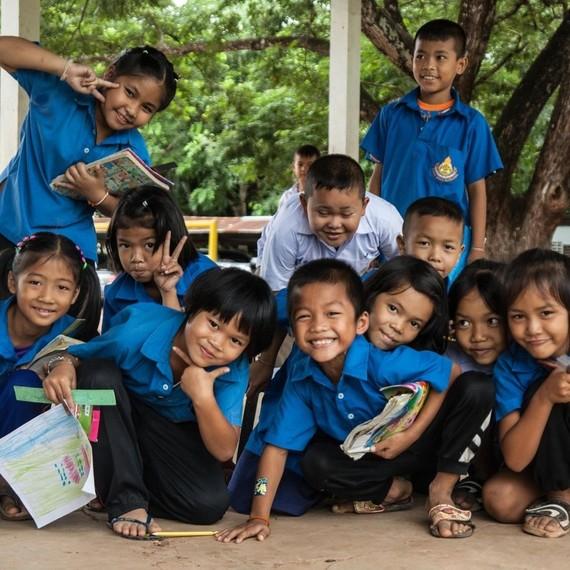 Courir le British 10k pour les enfants du Cambodge